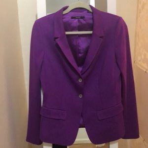 Elie Tahari purple blazer